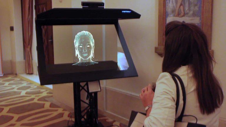 VNTANA AI Hologram Concierge