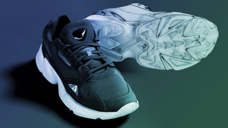 3D Model of shoe on VNTANA platform