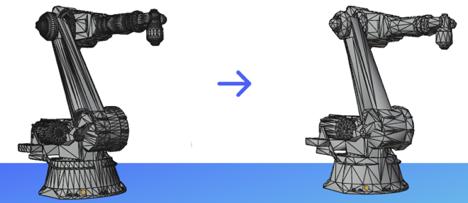 3D Model of Robotic Arm