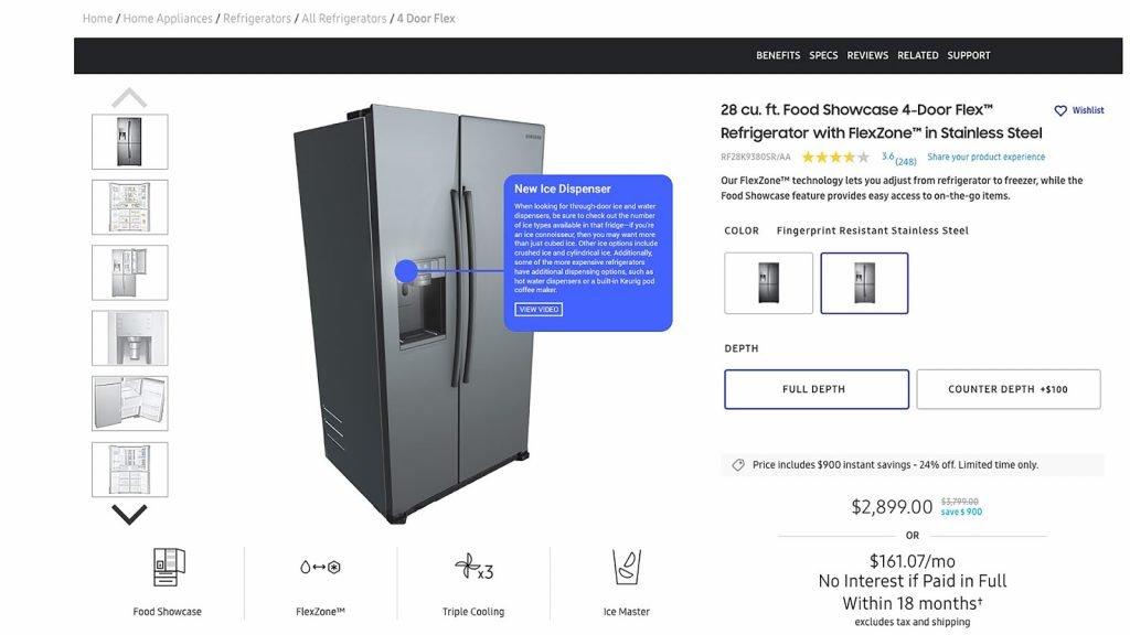 Hotspot fridge