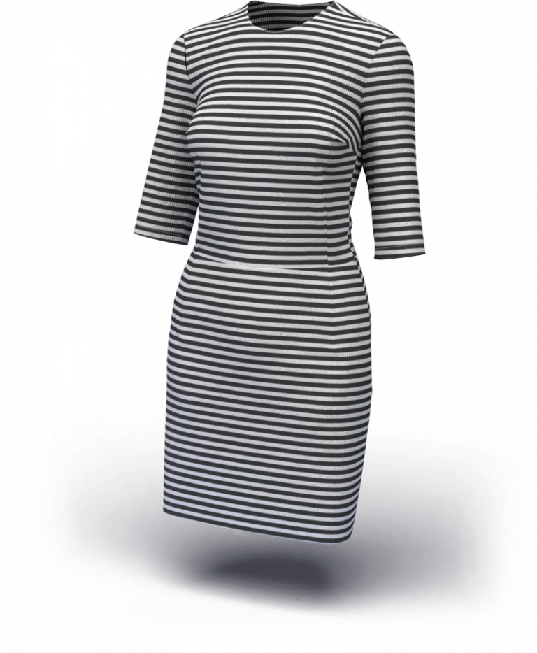 3D rendered clothing