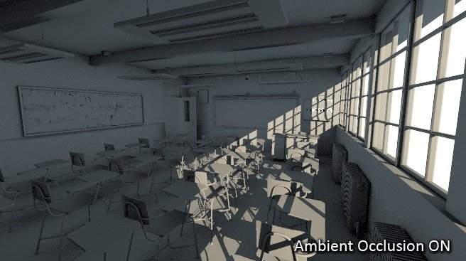 Ambient Occlusion ON Example