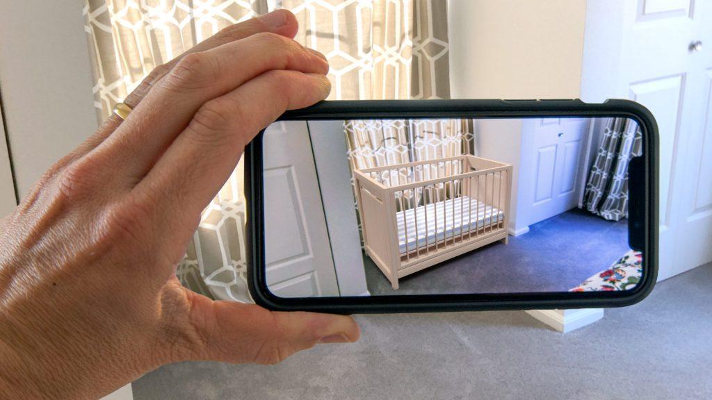 Baby Crib Phone AR