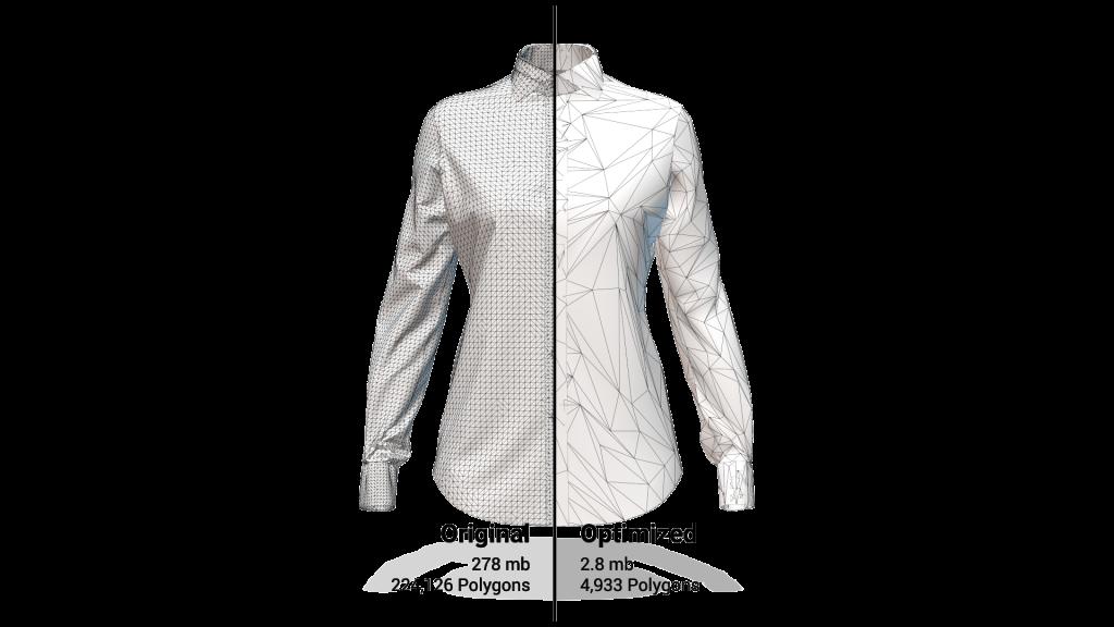 Optimized Shirt Comparison